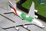 G2UAE774 | Gemini200 1:200 | Airbus A380 Emirates A6-EEW,'Green Expo 2020' (with stand) | is due: March 2019