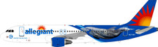 B-320-G4-01 | Blue Box 1:200 | Airbus A320-200 Allegiant N271NV (with stand) | is due: April 2019