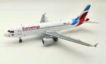 JF-A320-018 | JFox Models 1:200 | Airbus A320-214 Eurowings D-ABHG (with stand)