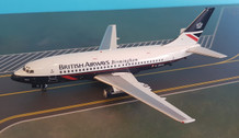 B-732-BA-06 | Blue Box 1:200 | Boeing 737-200 British Airways G-BKYL, 'Birmingham'