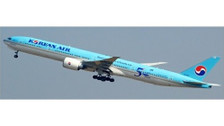 EW477W002A   JC Wings 1:400   Boeing 777-300ER Korean Air HL8008 50 years of Excellence (Flaps Down)   is due: April 2019