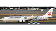EW4738004 | JC Wings 1:200 | Boeing 737-800 JAL Japan Airlines JA330J,'Shimajiro colours' | is due: April 2019