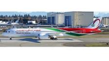 XX4160A   JC Wings 1:400   Boeing 787-8 Royal Air Maroc CN-RAM (flaps down)   is due: April 2019