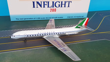 IF210AZ0319P | InFlight200 1:200 | SE 210 Caravelle VI-N Alitalia I-DABZ (polished, with stand)