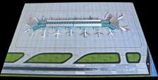 GJAPS008 | Gemini Jets 1:400 1:400 | Airport Accessories - Delux airport mat