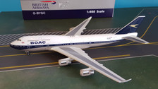PH04254 | Phoenix 1:400 | Boeing 747-400 BOAC G-BYGC
