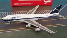 533317 | Herpa Wings 1:500 | Boeing 747-400 British Airways 100 Years BOAC G-BYGC