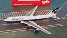 533393 | Herpa Wings 1:500 | Boeing 747-400 British Airways 100 years 'Landor' G-BNLY
