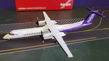 559829 | Herpa Wings 1:200 1:200 | Dash 8 Q400 Flybe G-JECY, 'New Colours' (die-cast with stand) | is due