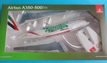 612364 | Herpa Snap-Fit (Wooster) 1:250 | Airbus A380-800 Emirates A6-EEW, 'Green Expo 2020'