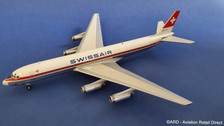 WB862HB0318P | Blue Box 1:200 | Douglas DC-8-62 Swissair HB-IDI (with stand)