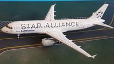 JF-A320-015 JFox Models 1:200 | Airbus A320-211 Lufthansa Star Alliance D-AIQS