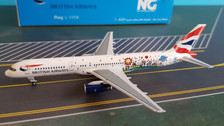 NG53092 | NG Model 1:400 | Boeing 757-200 British Airways Blue Peter G-CPEM
