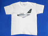 BAshirtBOAC | T-shirts | Boeing 747-400 BA BOAC characature childrens T-Shirt sizes 3-4 5-6 7-8 9-11