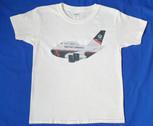 BAshirtlandor | T-shirts | Boeing 747-400 BA landor characature childrens T-Shirt