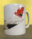 BAMUGNEGUS | Gifts | Coffee Mug - Boeing 747-400 BA Negus Characature