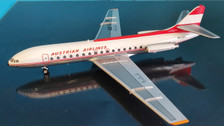 IF210OE0719P |IF200 InFlight200 1:200 | SE 210 Caravelle V1-R Austrian Airlines OE-LCA (with stand)