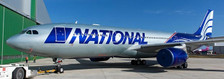 XX4176 | JC Wings 1:400 | Airbus A330-200 National Airlines N819CA | is due: June 2019
