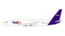 GJFDX1854 | Gemini Jets 1:400 1:400 | Boeing 737-800(BCF) Fedex G-NPTD | is due: