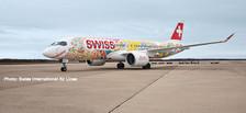 562713 | Herpa Wings 1:400 | Airbus 220-300 Swiss International Airlines HB-JCA | is due: September / October 2019