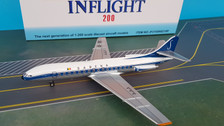 IF210SN0219P | InFlight200 1:200 | SE 210 Caravelle Sabena OO-SRB (polished with stand)