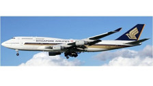 EW4744003   JC Wings 1:400   Boeing 747-400 Singapore Airlines 9V-SMS   is due: August 2019
