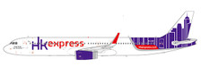 XX2057   JC Wings 1:200   Airbus A321 Hong Kong Express B-LEE   is due: August 2019
