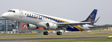 LH2218   JC Wings 1:200   Embraer E-190 STD House colours PP-XMB   is due: August 2019