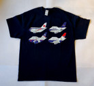 BA100tshirt | T-shirts | British Airways 100 anniversary T-Shirt Adult L/XL/XXL/XXXL