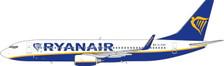 PH411539 | Phoenix 1:400 | Boeing 737-800WL Ryanair EI-GXN | is due: August 2019