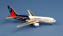 AC419580 | Miscellaneous 1:400 | Boeing 767-200 Delta Airlines N102DA,'ATLANTA 1996'