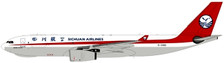 PM19021 | Panda Models 1:400 | Airbus A330-200F Sichuan Airlines B-308Q | is due: August 2019