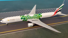 533720 | Herpa Wings 1:500 | Herpa Wings 1:500 | Emirates Boeing 777-300ER, Expo 2020 Dubai, 'Sustainability' livery, A6-ENB