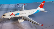 JF-A319-009 | JFox Models 1:200 | Airbus A319 -112 Chair Airlines HB-JOH (with stand)