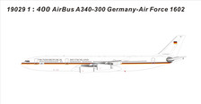 19029 | NG Model 1:400 | Airbus A340-300 German Air Force 1602 | is due: September 2019