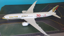 IF789GF50 | InFlight200 1:200 | Boeing 787-9 Gulf Air 70th anniversary A9C-FG (with stand)