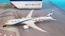GJELY1882   Gemini Jets 1:400 1:400   Boeing 787-9 EL AL 4X- EDD,' Las Vegas/San Francisco' livery