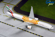 G2UAE800 | Gemini200 1:200 | Boeing 777-300ER Emirates A6-EPO,'Orange Expo 2020 with stand | is due: October 2019