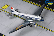 G2KLM843   Gemini200 1:200   Douglas DC-3 KLM Royal Dutch Airlines PH-DAZ (with stand)   is due: October 2019