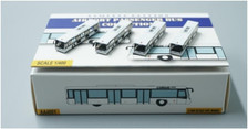 FWAA4001 | Miscellaneous 1:400 | Airport Accessories - 4 Piece White Buses
