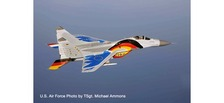 580557 | Herpa Wings 1:72 | Mikoyan MIG-29A Fulcrum Luftwaffe 29+10,Jagdgeschwader 73, 'Fulchrum Farewell Tour 2003' (diecast) | is due: January / February 2020
