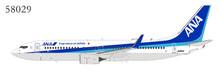 NG58029 | NG Model 1:400 | Boeing 737-800W ANA JA81AN | is due: November 2019