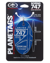 PLANETAGN198UA | Gifts | Original Aircraft Skin -Aviation Tag- Boeing 747-400 United Airlines N198UA