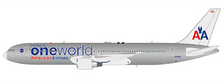 LH2AAL173 | JC Wings 1:200 | Boeing 767-300 American Airlines,'One World' N395AN ( with stand) | is due: November 2019