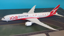IF789QFA100 | InFlight200 1:200 | Boeing 787-9 Qantas VH-ZNJ,'100th Anniversary' (with stand)