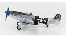 HA7740 | Hobby Master Military 1:48 | P-51D Mustang 464076, 3rd FS, 3rd FG, 'Jumpin Jacques', Philippines 1945