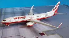 JF-737-8-004 | JFox Models 1:200 | Boeing 737-86J Air Berlin D-ABBA (with stand)