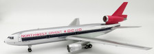 JF-DC-10-4-002 | JFox Models 1:200 | DC-10-40 Northwest Orient N143US (with stand) '97pcs.' | is due: November 2019
