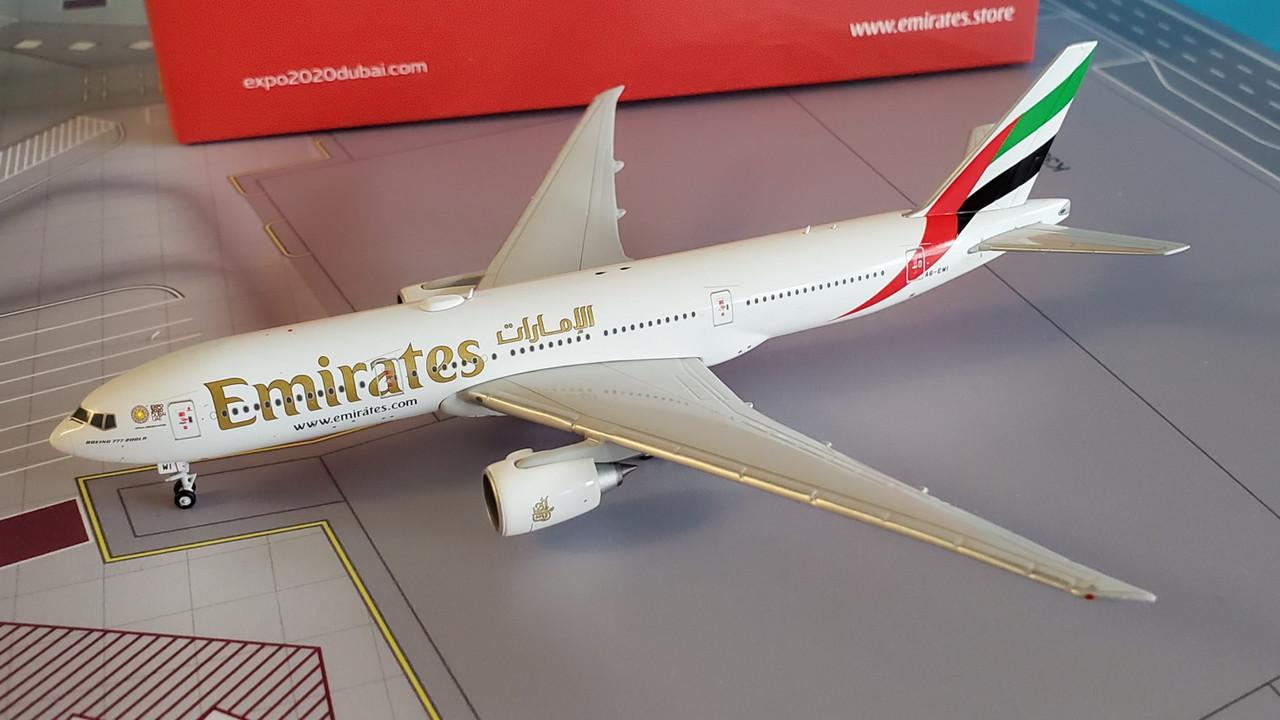 "Gemini Jets 1:400 Emirates 777-300ER /""Green Expo/"" A6-EPU GJUAE1817 IN STOCK"