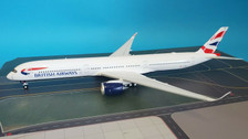 B-351-BA-01 | Blue Box 1:200 | Airbus A350-1000 British Airways G-XWBA (with stand)